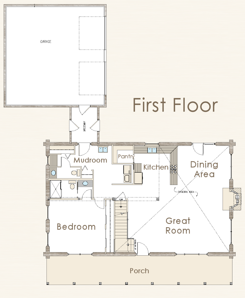 Pics for clutter family house floor plan for Big family house floor plans