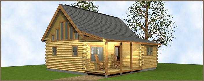 The Cavendish Log Cabin
