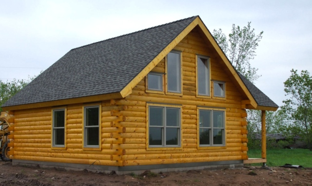 Is A Slab Or Basement Best For My Log Home 171 Real Log Style