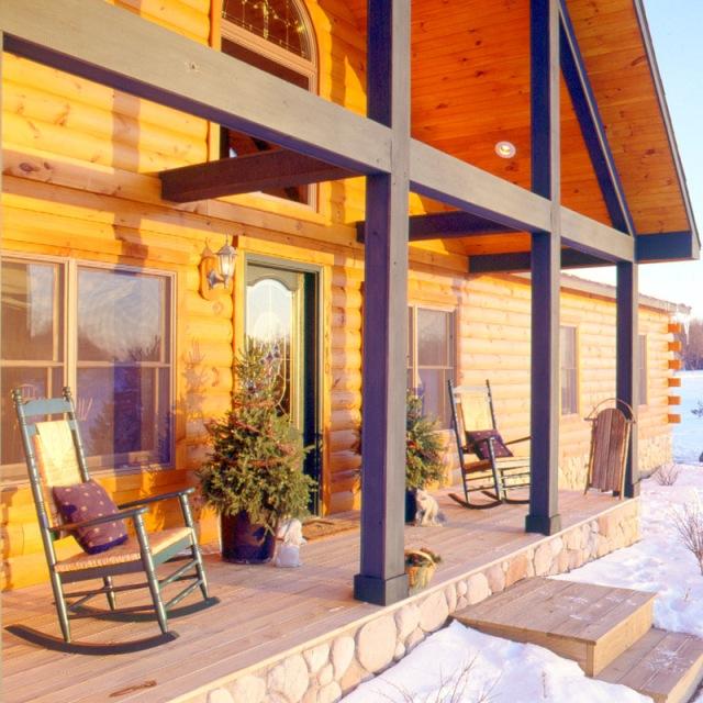 Gift Ideas Real Log Style: Log Home Lighting « Real Log Style
