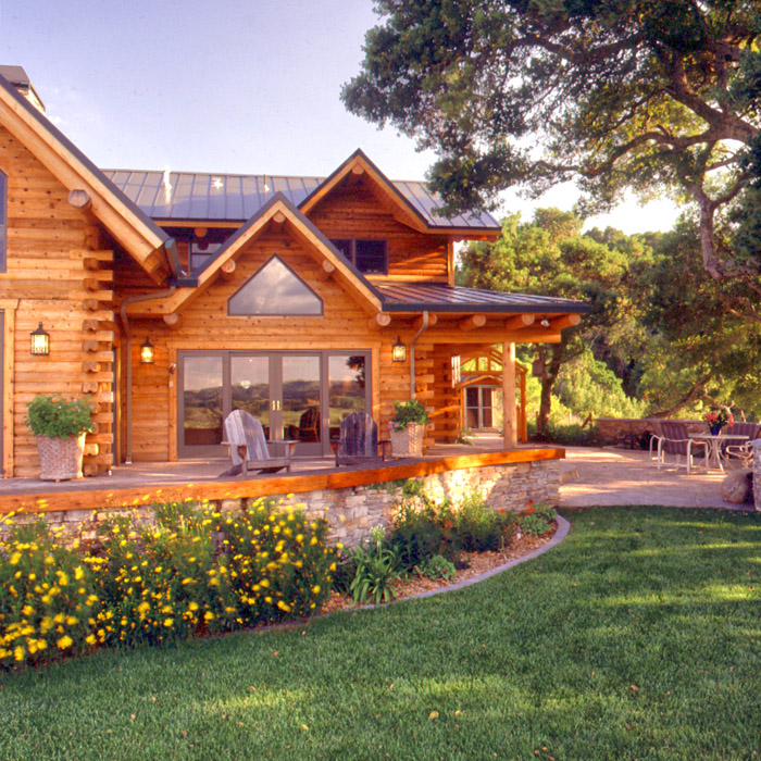 Luxury log homes real log homes for Large luxury log homes
