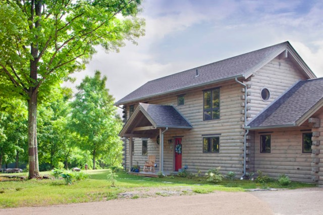 energy star vermont log home