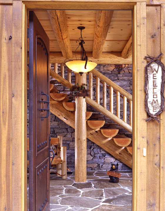 Flooring Options For Log Homes Real Log Style