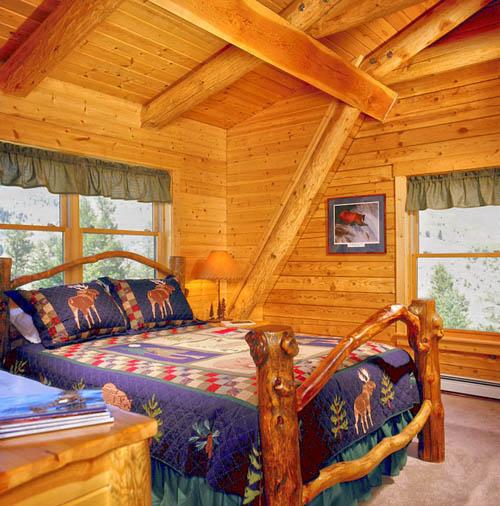 Log Home Kitchens Real Log Style: A Montana Log Home: Real Log Homes Goes Custom « Real Log