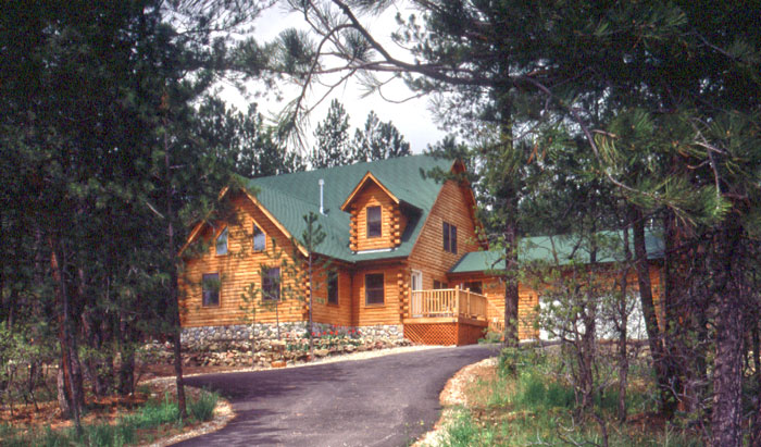 Roofing Options For Your Log Home Real Log Homes