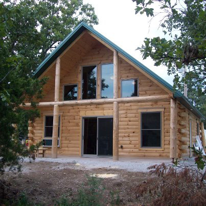 Diy cabin plan with wrap around porch wooden pdf popular for Log cabin house plans with wrap around porches