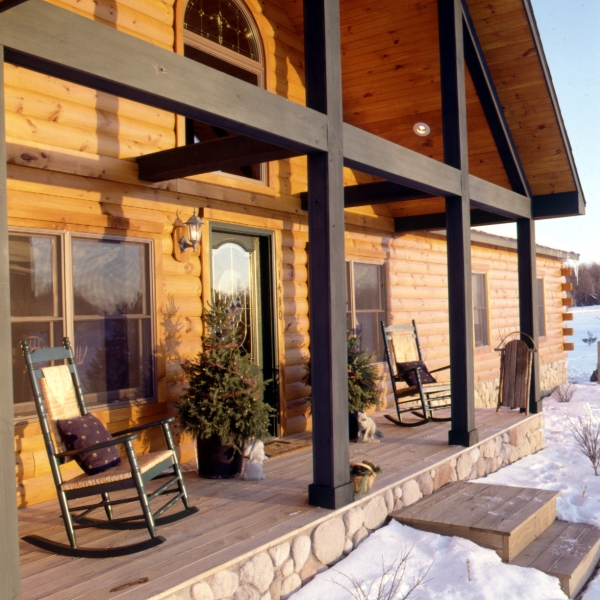 Log Home Kitchens Real Log Style: Log Home Photos « Real Log Style